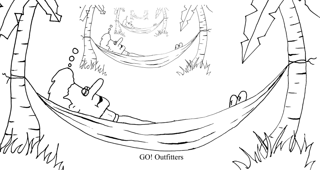 Sleep deeper and faster in a GO! Outfitters Hammock!