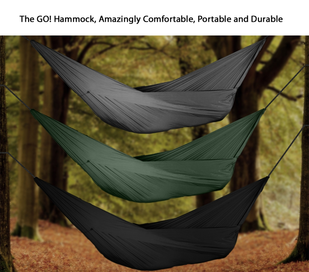 See the GO! Hammock on Kickstarter!
