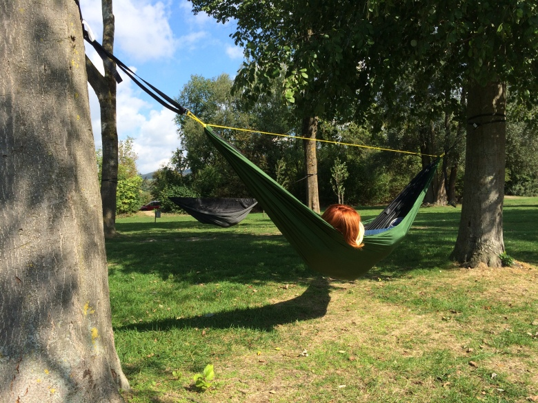 GO! Hammock being used in Austria!