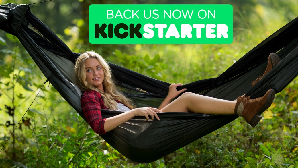 We are excited to announce that we have launched our new Go Camping Hammock 2.0 on Kickstarter!